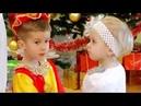 новогодний ТАНЕЦ в детском саду (ясли)