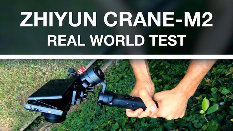 Crane-M2 TESTED - Tiny powerful gimbal