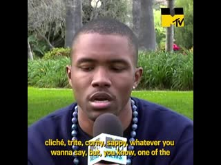 Mtv: frank ocean rare interview (2011)