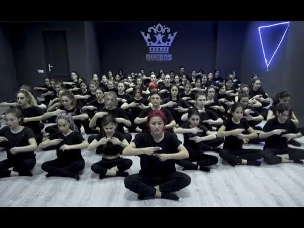 ყვავილების ქვეყანა მეგი გოგიტიძე ჟესტების ენა Queens Dance Studio Choreography Ani Javakhi