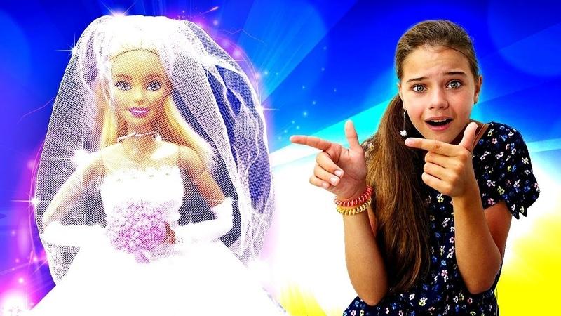 Барби проспала свадьбу Барби невеста Игры для девочек Салон красоты