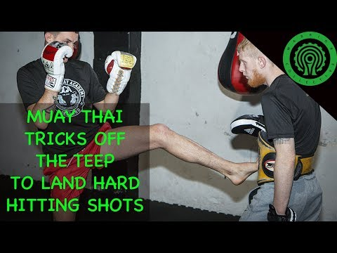 Muay Thai Tricks 4 Ways to Hit Hard off the Teep with Craig Coakley