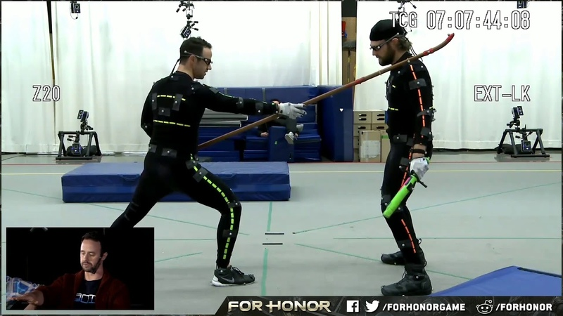 For Honor Warrior's Den Execution Mocap Session Excerpt - Behind the Scenes