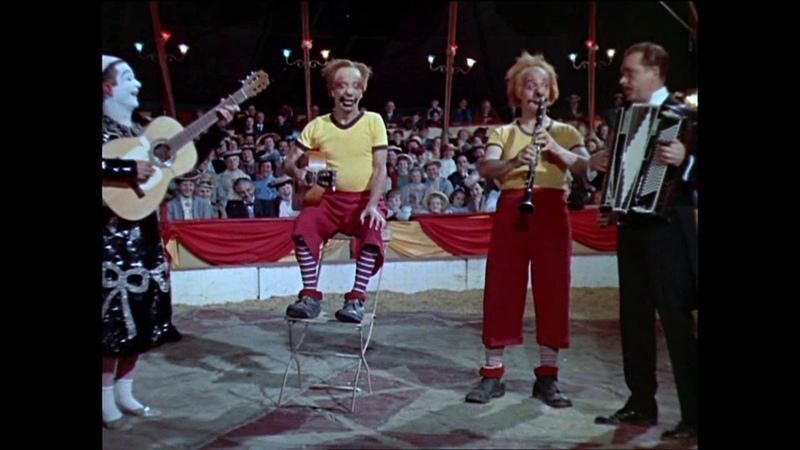 Les Rudi Llata Circus ( Clowns ) couleur 1957