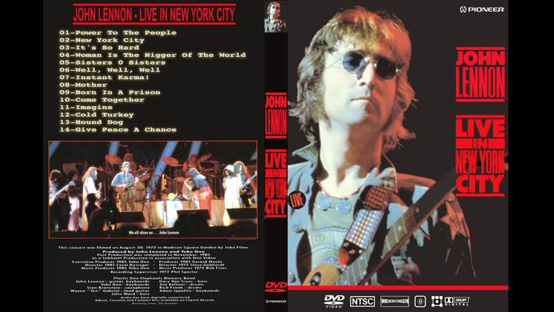 John Lennon - Instant Karma (Live in New York City 1972)