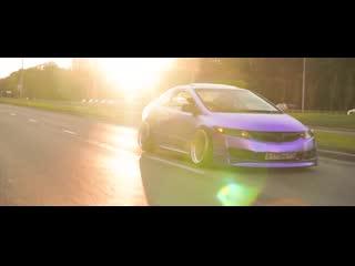 Honda Civic Coupe #Springless
