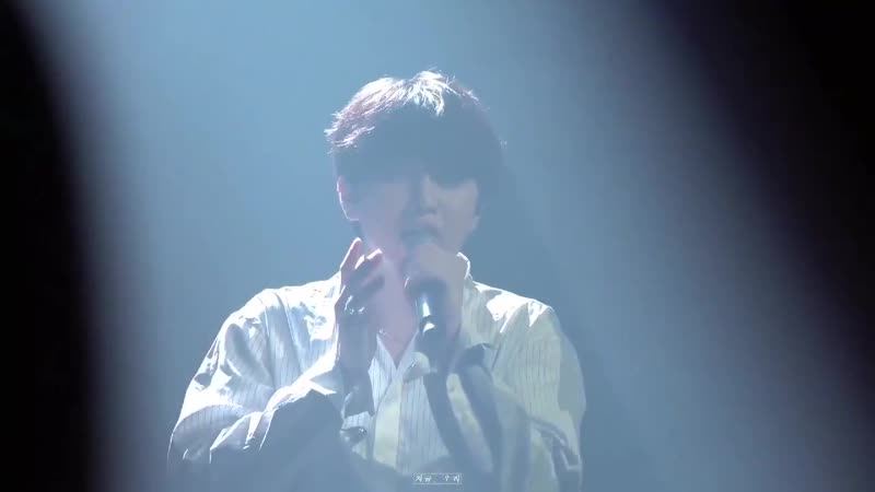 190630 B1A4`s Sandeul covered Jjong`s End of a day at his 1st solo concert `wind forest`