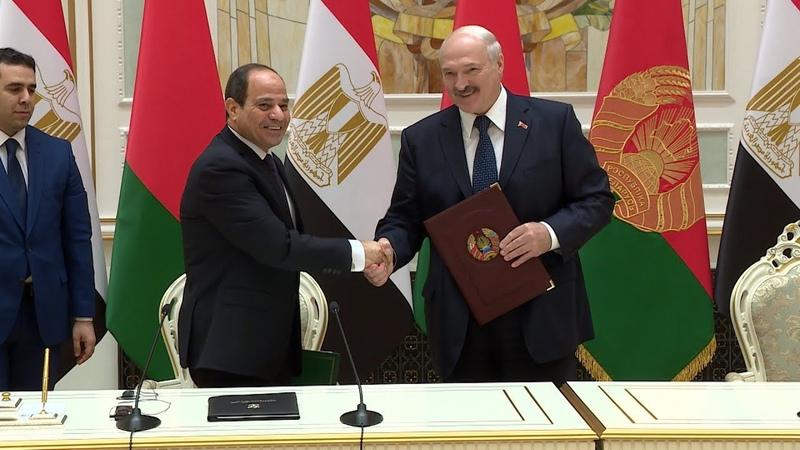 Беларусь стремится укреплять отношения с Египтом на принципах равноправия и доверия - Лукашенко