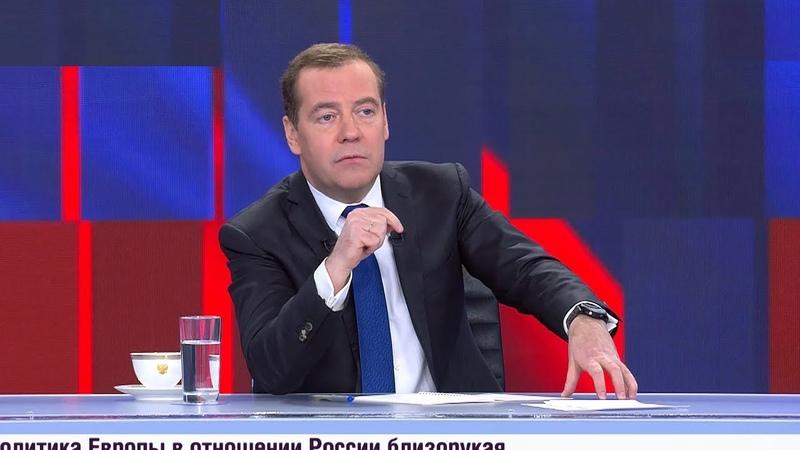 Медведев: Россия и Беларусь при интеграции должны видеть свет в конце туннеля