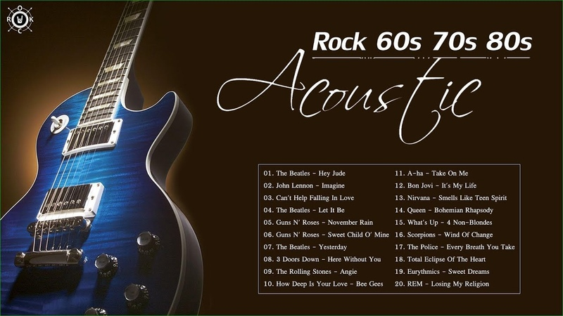 Acoustic Rock Songs | Greatest Hits Rock Songs Of 60s 70s 80s