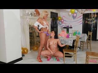 Bridgette B And Whitney Wright - Birthday Bummer - Porno, Lesbian, Porn, Порно