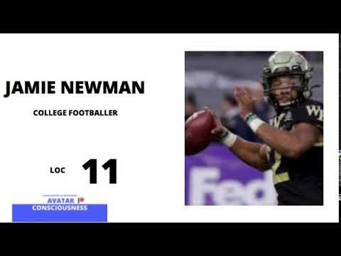 Jamie Newman NFL AvatarConsciousness LOC LevelofConsciousness ConsciousnessCalibrations