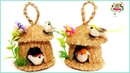 DIY Hanging Showpiece with Jute and Plastic bottle Home Decoration using Jute Jute Craft Idea