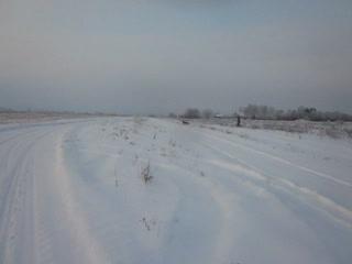 Следовая работа в зимний период .