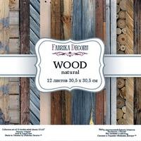 Набор скрапбумаги Wood natural 30,5x30,5 см 12 листов 358 р В наличии 1 шт.
