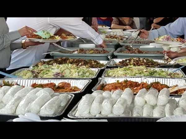 Hmong funeral food in Fresno