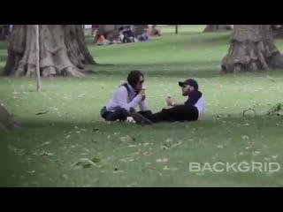 Крис и Лили в парке Лондона (08/07/20)