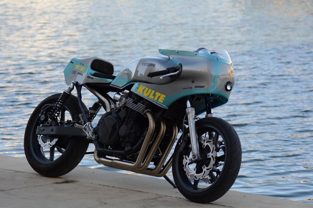 Le Motographe: кастом Honda 750 RKB Kulte