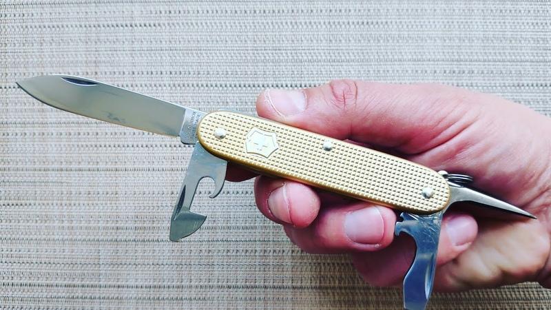 Нож PIONEER Alox 0 8201 L19 Victorinox Limited Edition 2019