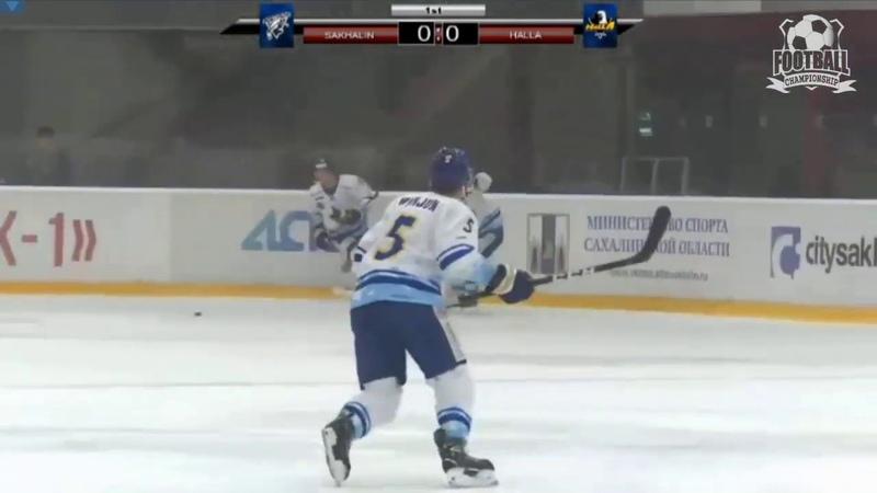 Хоккей. Сахалин - Аньянг 0-1 (12.11.19) Sakhalin - Anyang