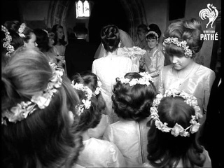 19 Bridesmaids At Wedding (1969)
