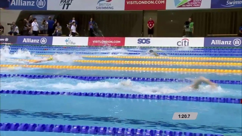 Medal Ceremony | Mens 400m Freestyle S6 | London 2019