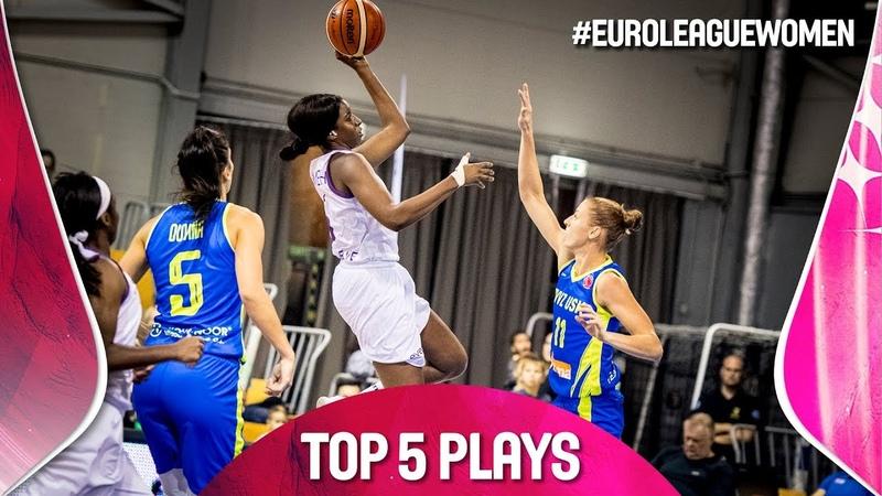 Top 5 Plays | Game Day 1 | EuroLeague Women 2019-20