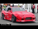 Nissan 180SX Silvia Toyo Tires Drift Demonstration Run