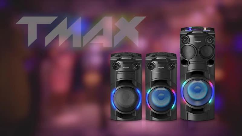 Аудиосистемы Panasonic серии TMAX
