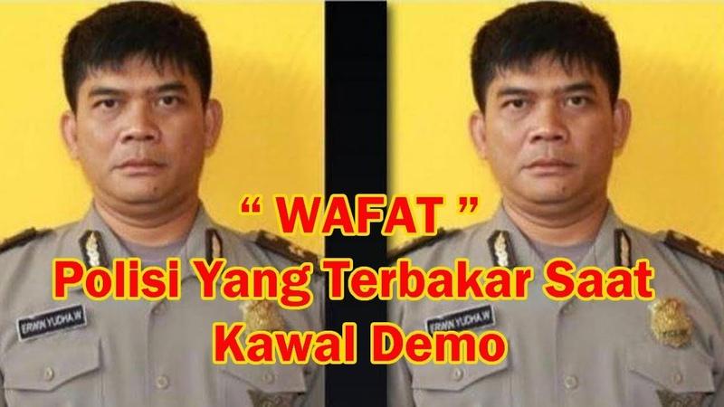 Ipda Erwin, Polisi yang Terbakar saat Kawal Demo di Cianjur Meninggal