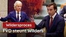 2677 Bizar Coalitie wil eerst veroordeling Wilders dan pas onderzoek naar inmenging YouTube