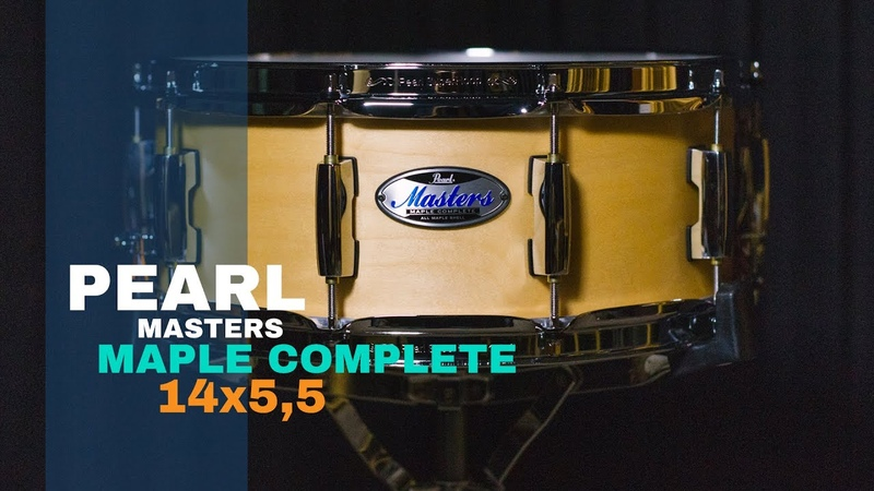 DRUMPEDIA EPS. 22 Pearl MASTERS Maple Complete 14x5,5