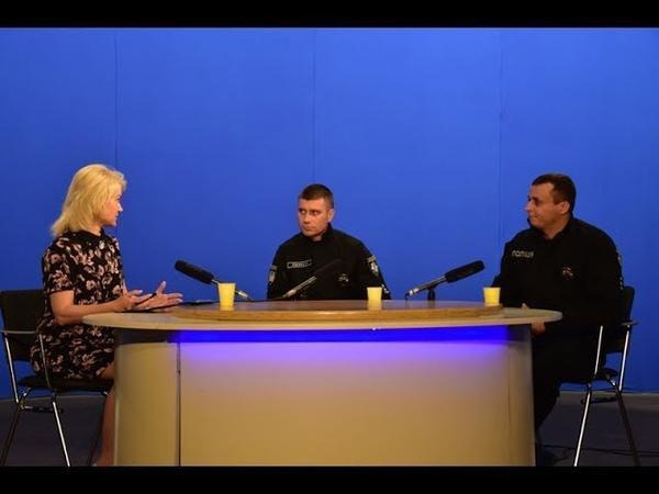 Про роботу поліції охорони Одещини в передачі Вечірня Одеса