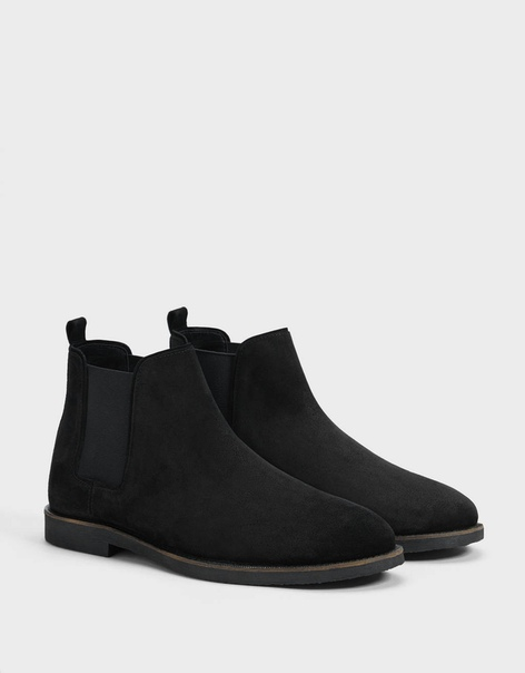 Мужские кожаные ботинки челси