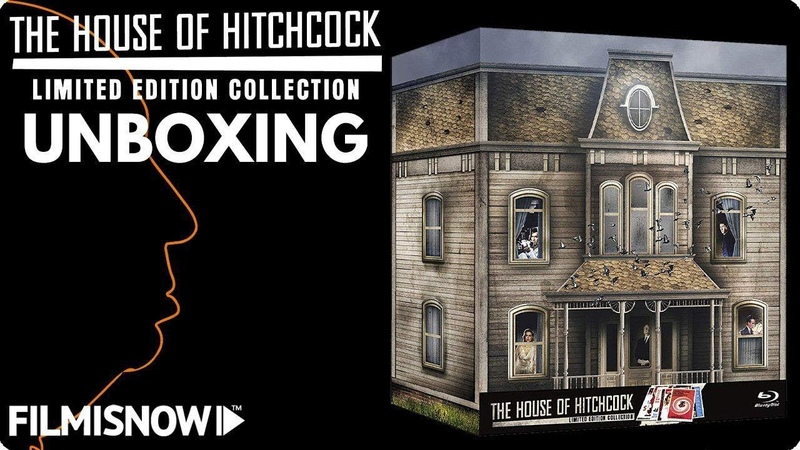 HOUSE OF HITCHCOCK UNBOXING La nuova Limited Edition Blu Ray