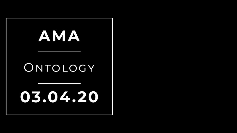 Ontology AMA with Bibox Exchange support Market Situation Project State ONG Giveaways ENG