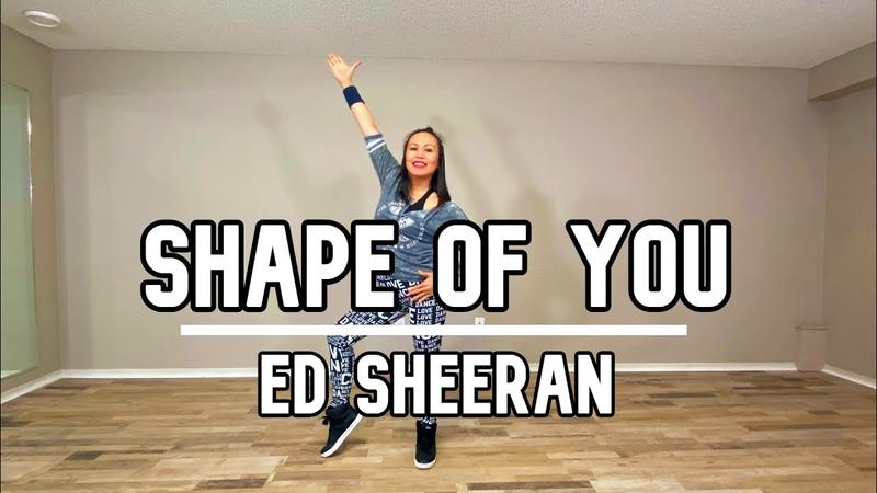 Shape of You Ed Sheeran Pop Dance Workout Marievyn Astillo Choreography