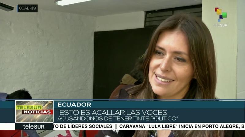 Ecuador: periodistas y medios denuncian intentos de silenciarlos