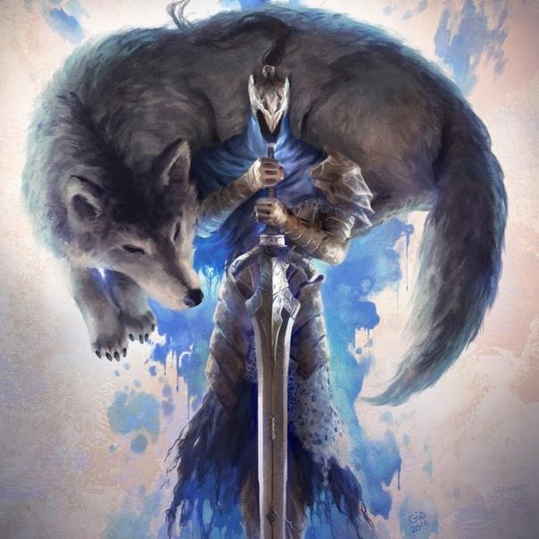 если первую картинка волк с мечом что отдельные