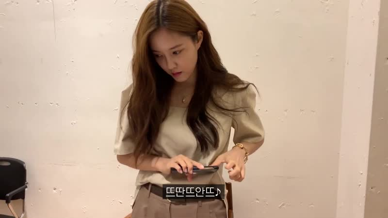 YT 190831 Hyomin Youtube official 효민TV ★축하해주세요★ OVC observation cam