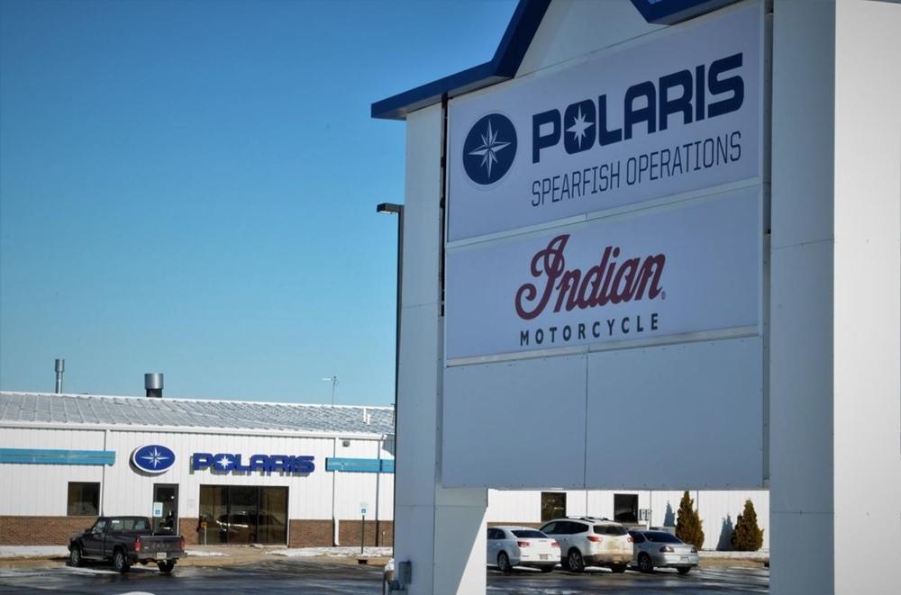 Компания Polaris консолидирует производство Indian, завод Спирфиш закрывают