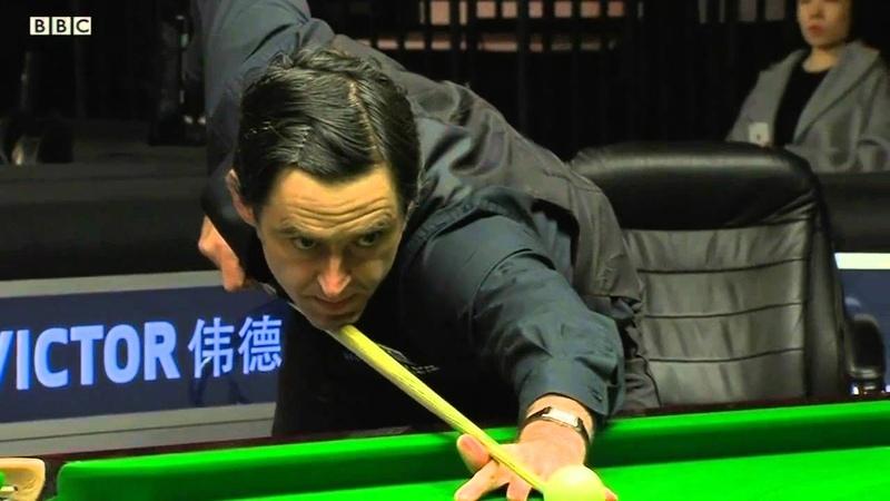 Ronnie O'Sullivan One Visit Express vs Tian Pengfei 2016 Welsh Open R2