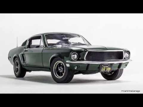 1968 Ford Mustang GT 390 Bullitt FCaminhaGarage 1 18