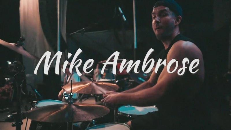 SJC Custom Drums Mike Ambrose of Set Your Goals Goonies Never Say Die Drum Cam!