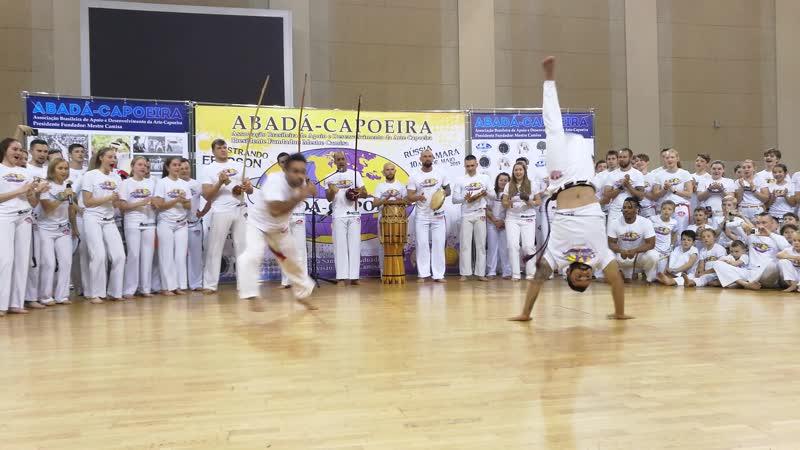 8° Batizado e Troca de Cordas Abadá-Capoeira Samara 2019