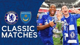 Chelsea 1-0 Portsmouth | Didier Drogba Secures Chelsea Double | FA Cup Classics 2010