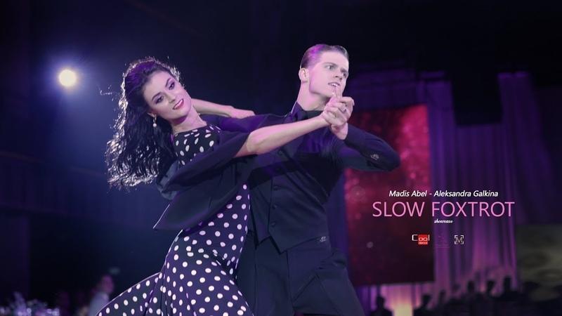 Madis Abel - Aleksandra Galkina | 2019 Night Of NINE | Prague | Showcase Slow Foxtrot