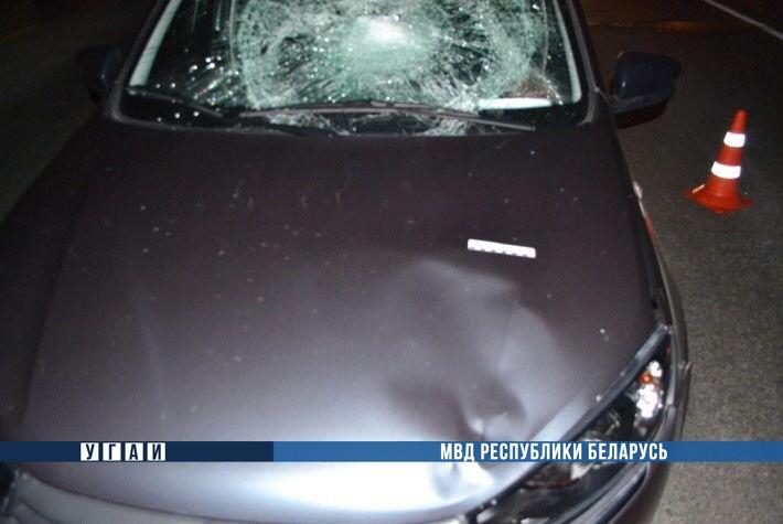Школьник рванул через ул. 28-го Июля на мосту, но не заметил автомобиль Лада и был сбит