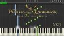 Pirates of the Caribbean: Dead Men Tell No Tales Teaser Trailer *PIANO* w/ SHEET MIDI