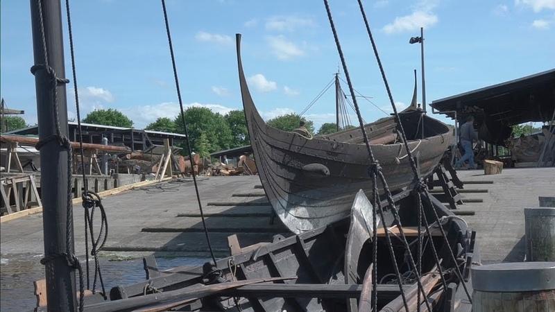 Могилы викингов Затерянная флотилия викингов Роскилле 3 серия из 6